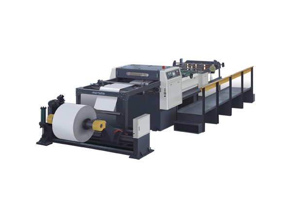 KS-1400A servo control paper sheeting machine