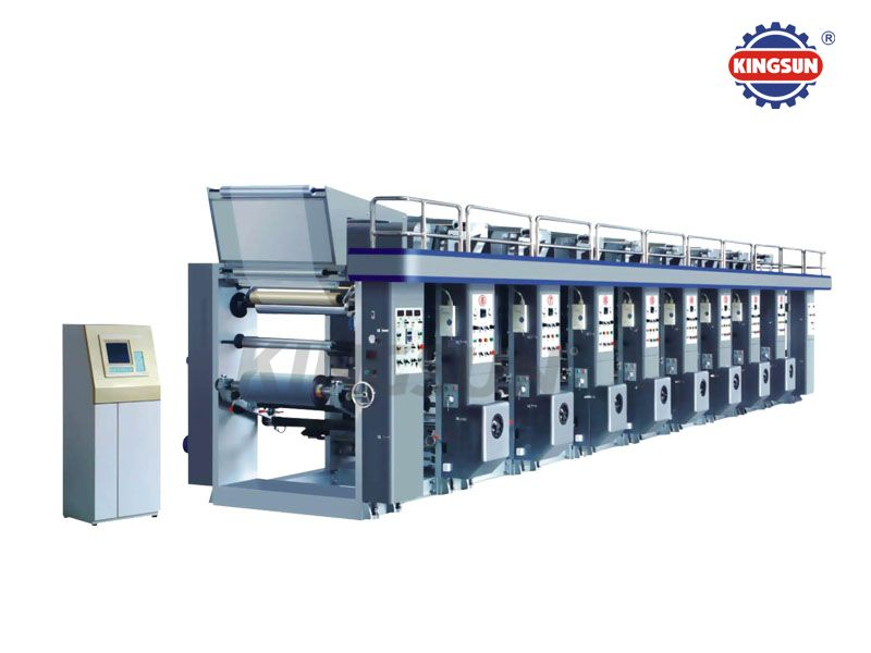 KASY-E series Computer Control Rotogravure Printing Presses