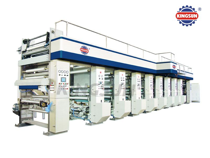KYJG-850 Computer Control High Speed Rotogravure Printing Machines