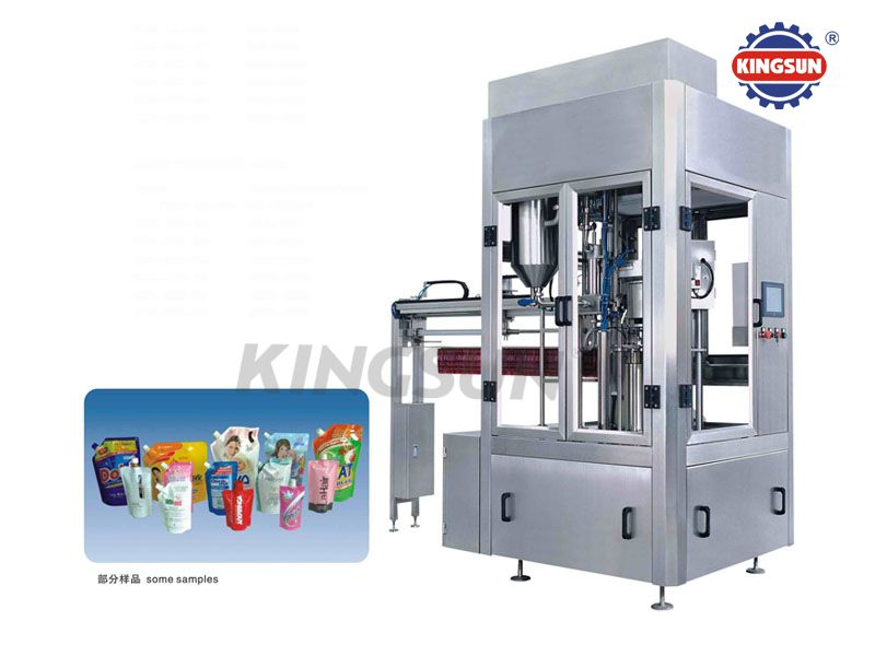 KSX-ZD Automatic Stand-up Pouch Filling and Capping Machines