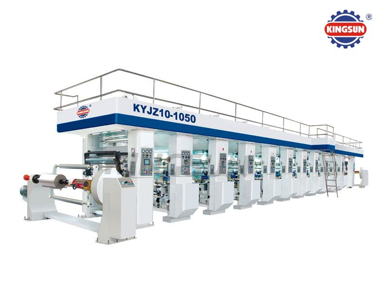 KYJZ Series computerized high speed rotogravure printing presses