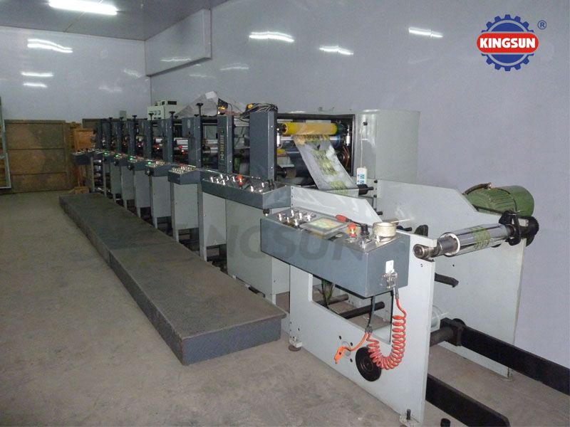 FP-1358 Series Label Flexo Printing Presses