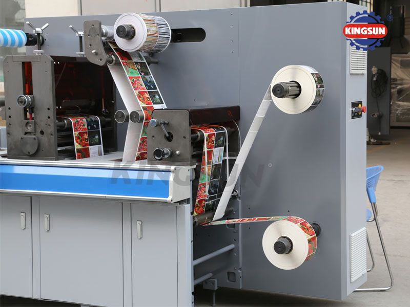 FM-320 Series Automatic Rotary Label Die Cutting Machine
