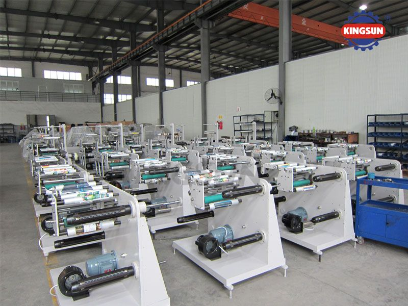 DK Series Label Slitting Rewinding Machines