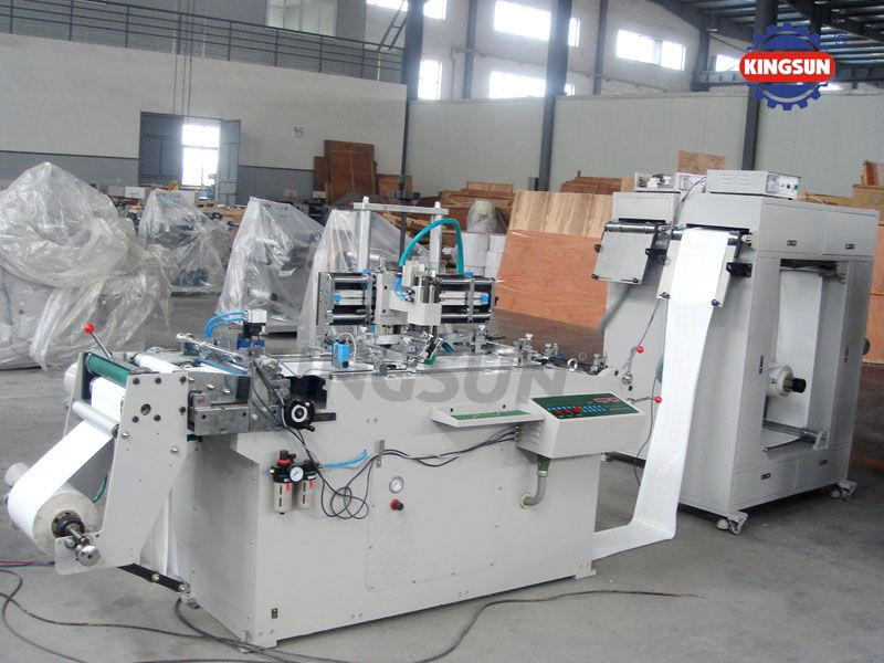 WQ-320 Model Lable Screen Printing Machine