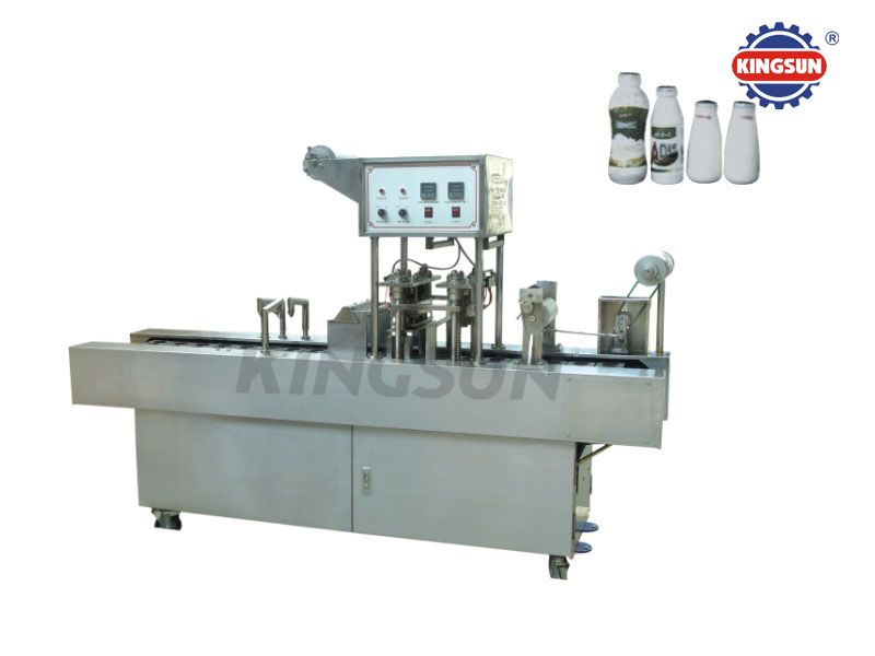 BG48S Automatic Milk Bottles filling and Sealing Machine
