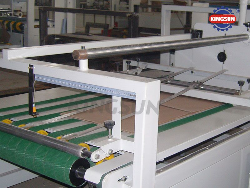 HX-2600 Semi-auto corrugated box folding Gluers