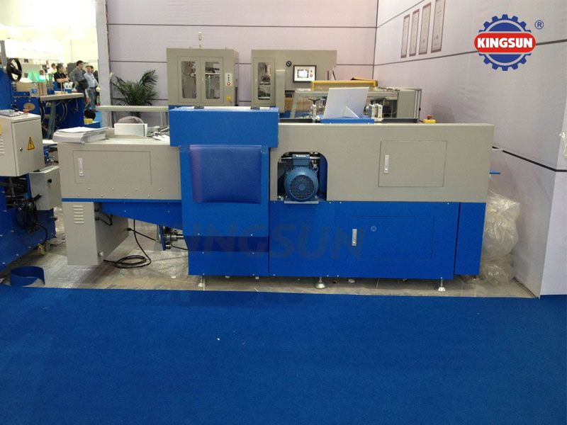 KZK320 Automatic Book cover Gate Folding & Trimming Machine