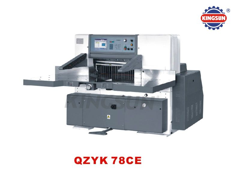 QZYK-CE Computer Programme Control Paper Cutters