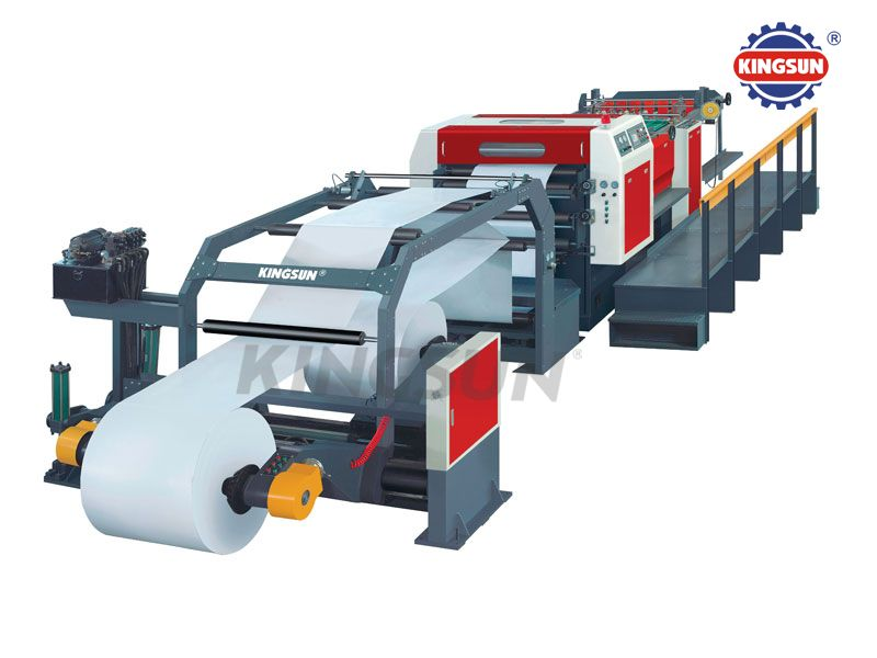 KS-B Series Servo control high speed rotary paper sheeter machine