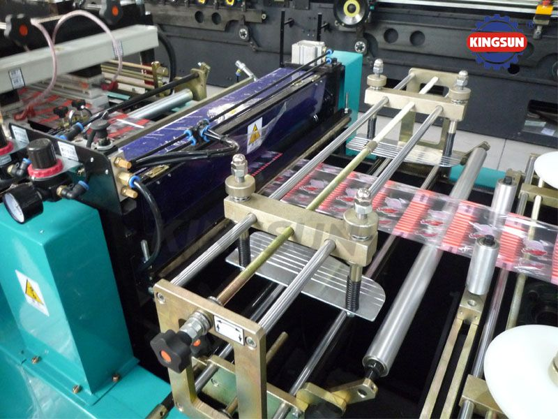 WKS-500ZF Center sealing bag making machine