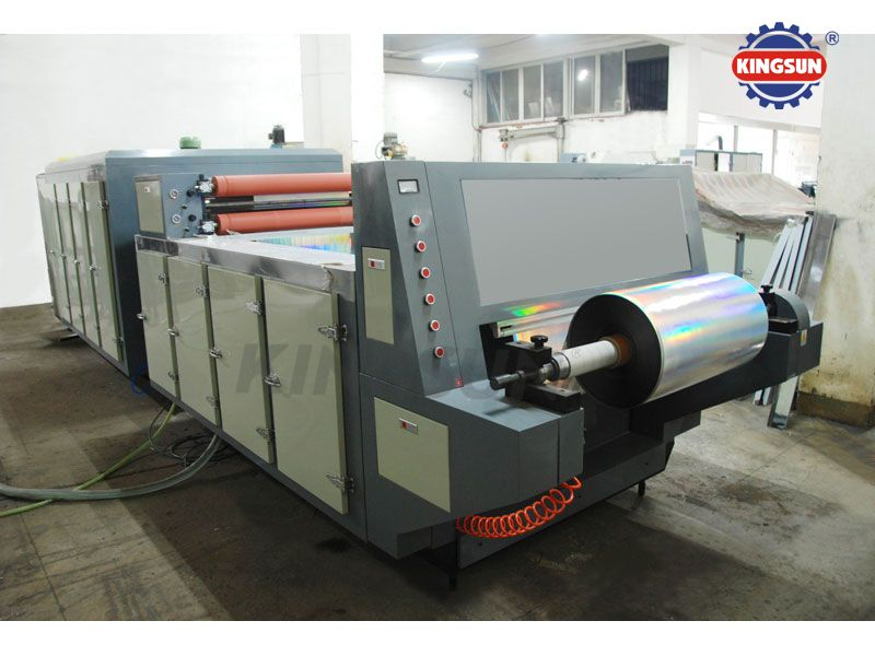 De-metalizing Machine (demetalizing machine or metallized film partly washing machine)