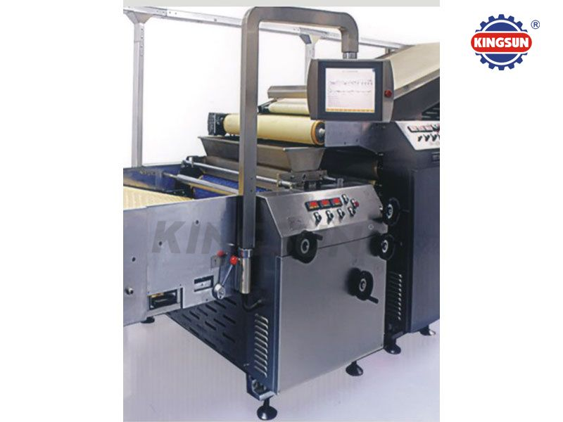 Fully-automatic biscuit production line