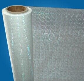 Hologram laminating film