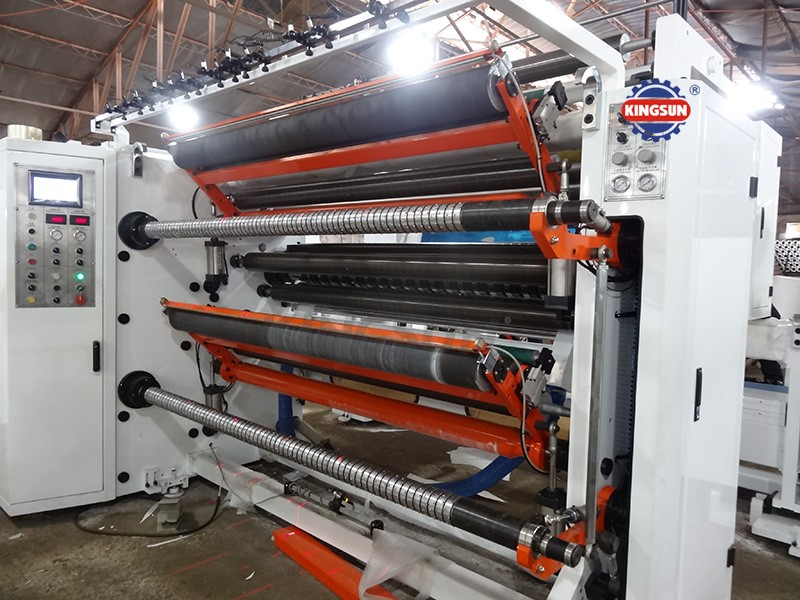 KSFQ-G series top level high speed slitter rewinders