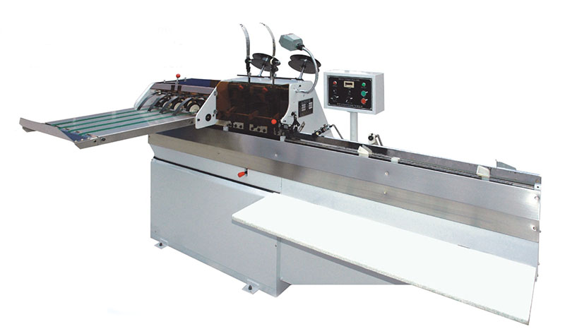 Semi-automatic saddle stitching machine