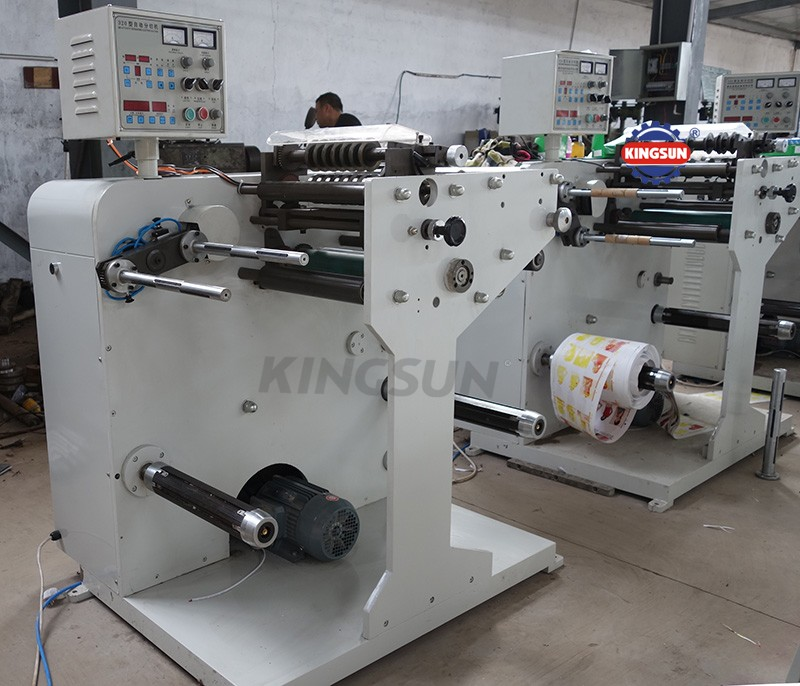 DK-320H high speed label slitter