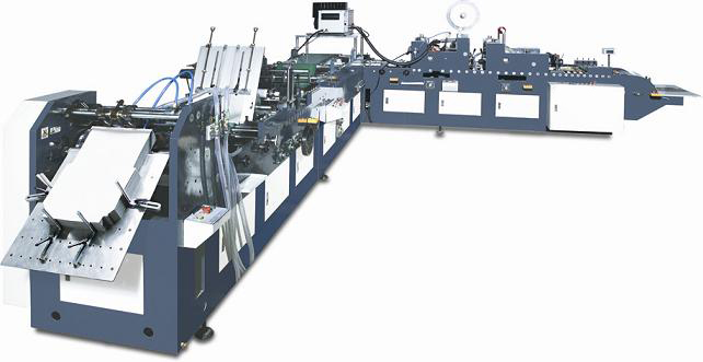 KZF-400 model automatic courier envelope making machine