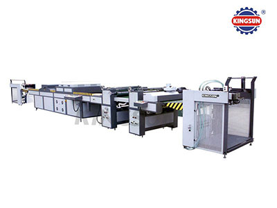 KGUV-1000A/1200A Automatic Whole UV Coating Machine