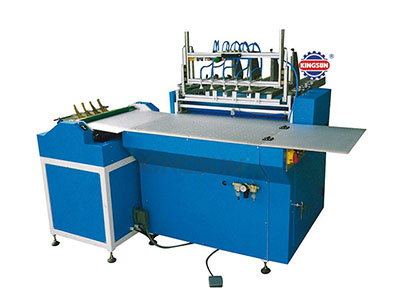 Semi-automatic hard case making machine