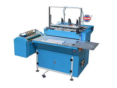 MHC-500A model semi-automatic case making machine