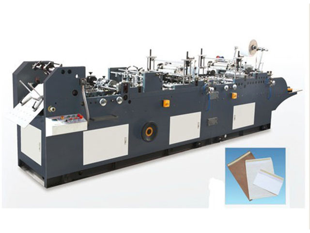 KZF-480 model envelope making machine with release paper sticking
