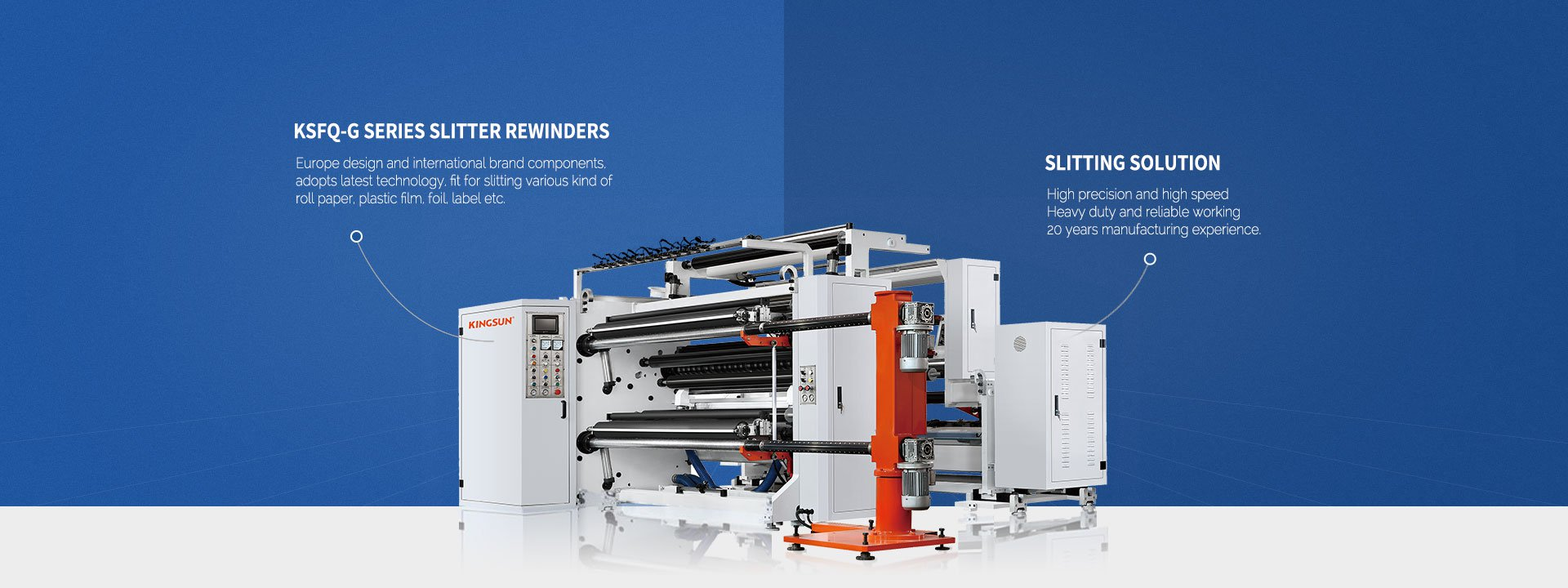 High Speed Slitter Rewinder Machine