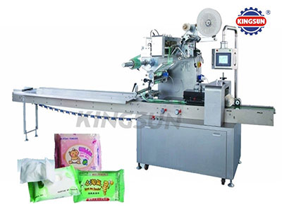 KSK-400 Intellectual full-auto drawer type wet tissue packing machine