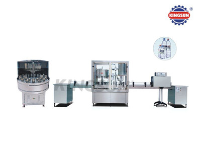 BF2000 Production Line Of Washing, Filling And Capping Machine