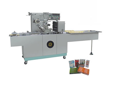 BTB-300B Automatic cellophane overwrapping machine