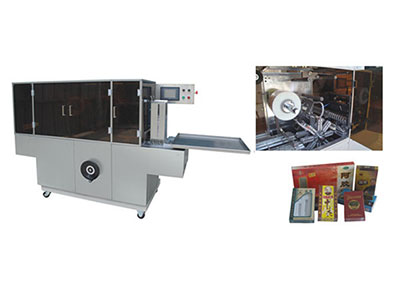 BTB-300D Cellophane overwrapping machine