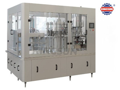 KSGF Three in one carbonated drink filling machine