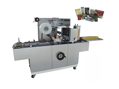 BTB-350 Cellophane overwrapping machine