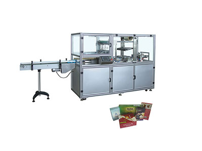 BTB-400 Cellophane overwrapping machine