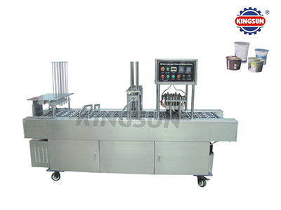 BG-V series Automatic Cup Fill-Seal-Cut machine