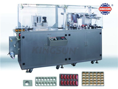 DPP-G series Plate type AL-plastic blister packing machine