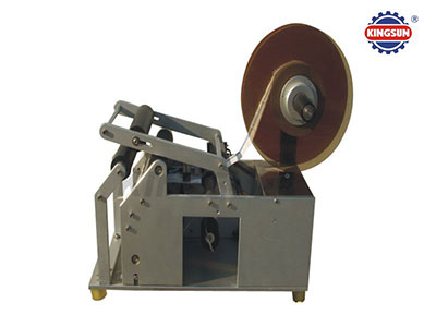 MT-50 Semi-automatic round bottle sticker labeler