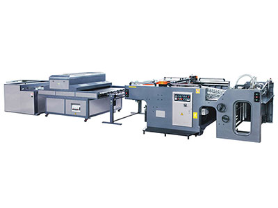 Automatic swing cylinder screen prining machines