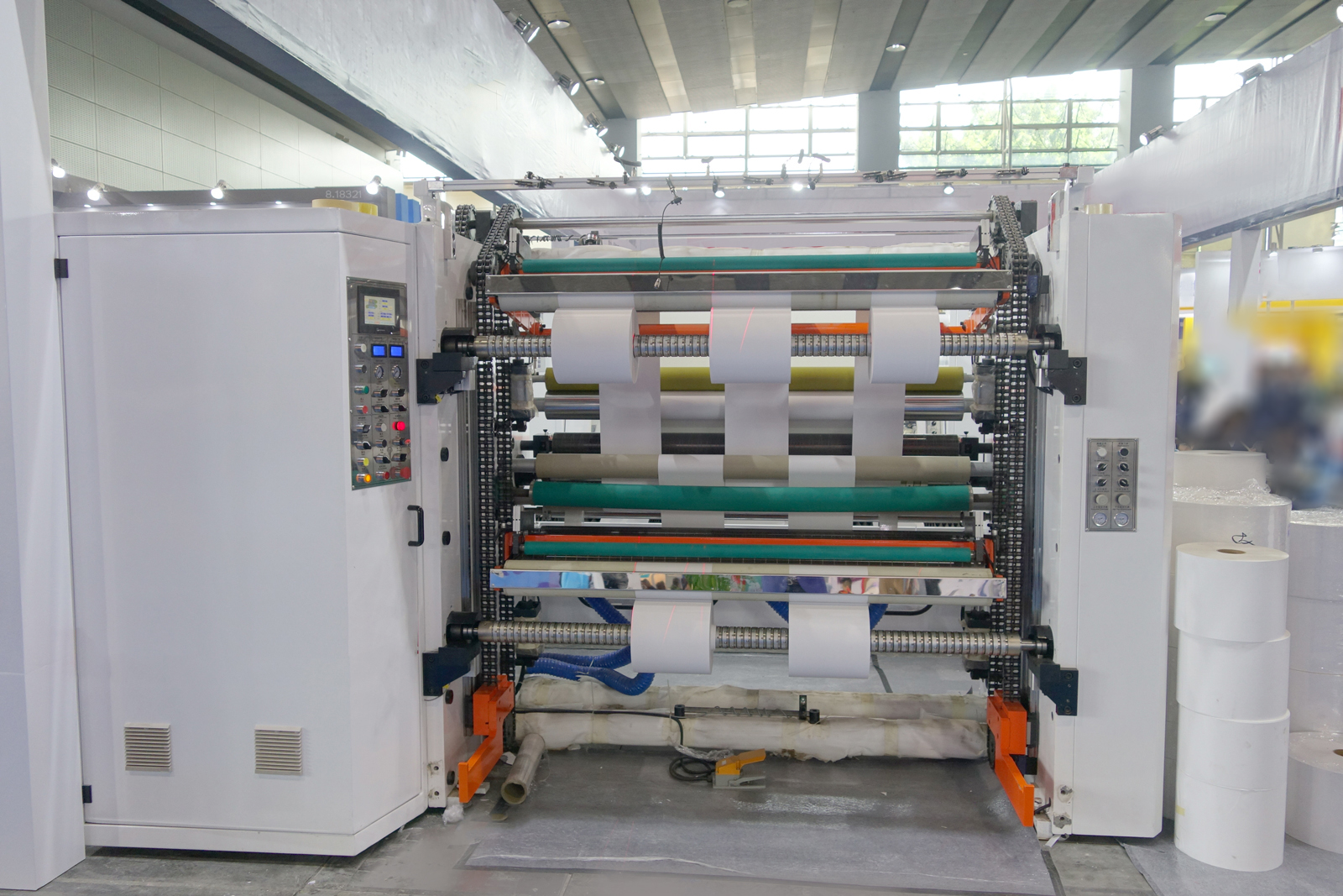 KSFQ-A Series High Speed Self Adhesive Sticker Paper Slitting Machine