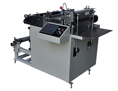 KQP-320 Model Self Adhesive Label Sheet Cutting Machine