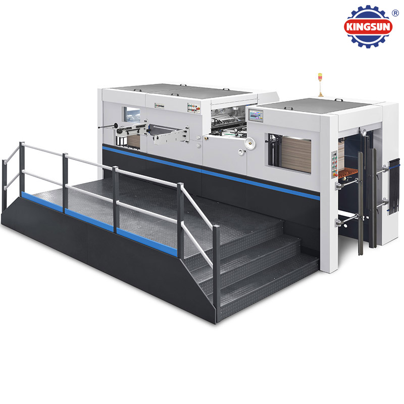 KMHC-1060 Model Automatic Flatbed Die Cutting Machine