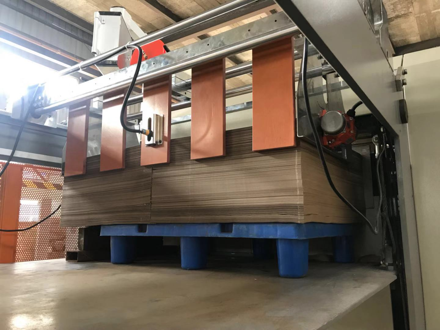 HQJ-1400B-2 Series Jubmo Roll Cardboard Paper Sheeting Machines