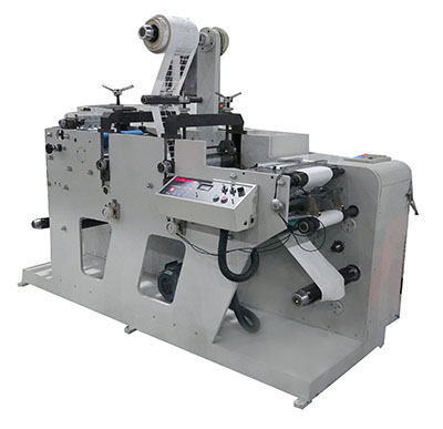 DK-320G-2 Model Label Slitting Machine with Two Units Rotary Die-cutting