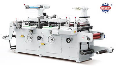 KTM-320D Two-Station Type Label Die Cutting Machine